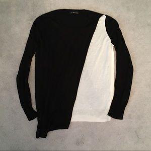 Zara Sweater with Drape Detail